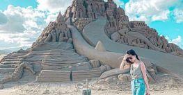 Lễ hội điêu khắc cát ở bãi biển đẹp nhất Đài Loan
