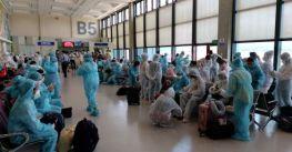 Hơn 240 công dân Việt Nam ở Đài Loan về nước an toàn